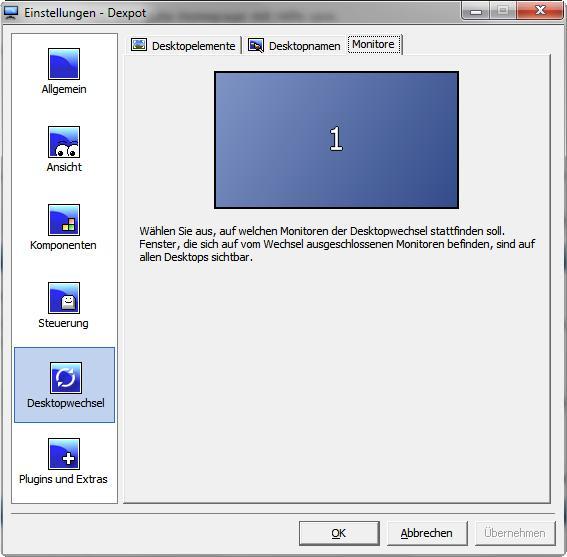Windows 7 2 bildschirme unterschiedlicher hintergrund
