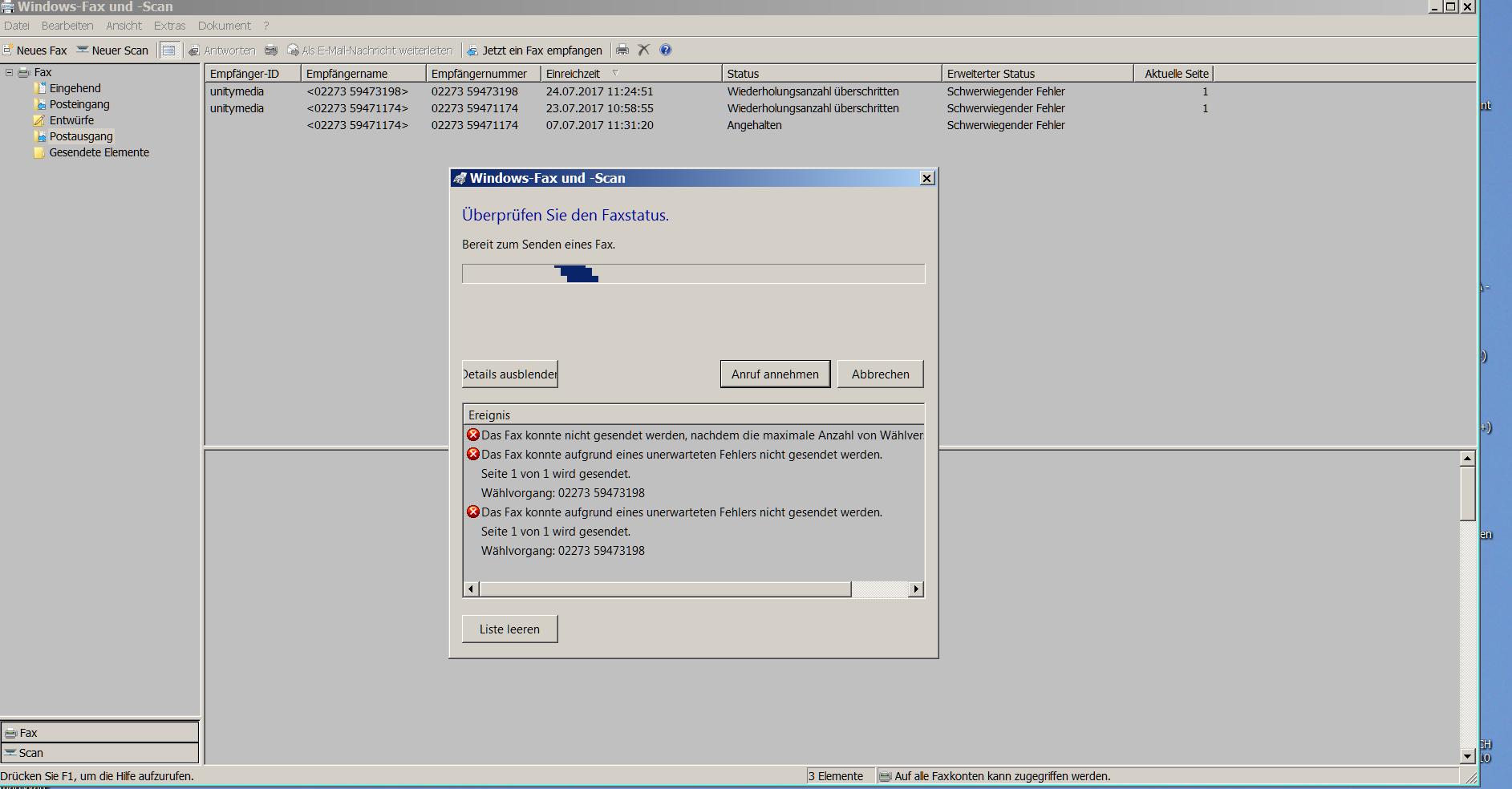 Fehlermeldung bei Windows Fax- u. Scan Programm.PNG