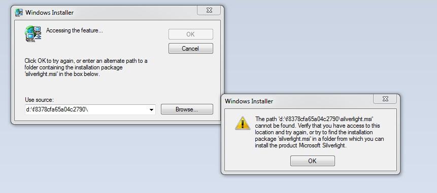 Microsoft Silverlight Update Fehlgeschlagen